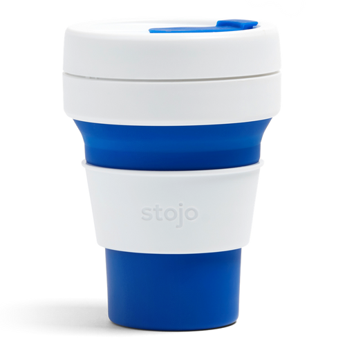 Stojo Collapsible Cup (Duotone Blue)