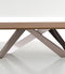 bonaldo big table leaf glass dining table (180/260)