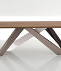 bonaldo big table leaf ceramic dining table (180/260)