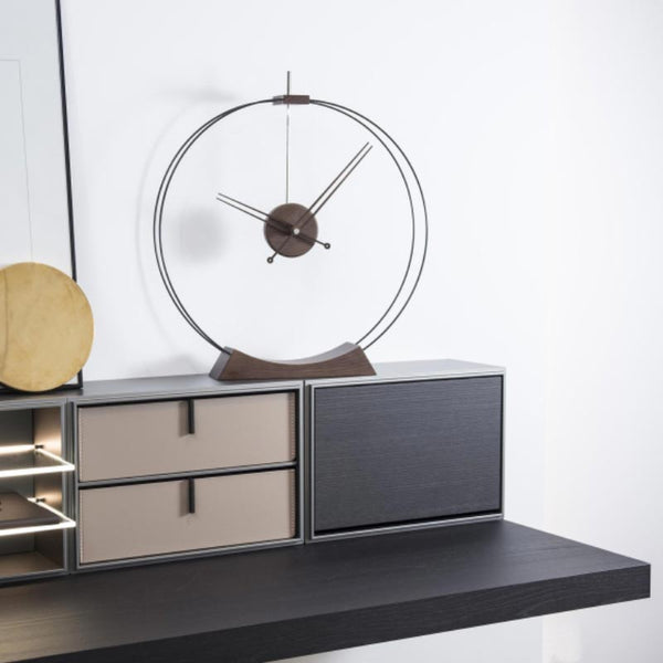 nomon aire minimalist table clock | shop online ikonitaly