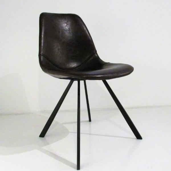 altacorte wally chair  - black | ikonitaly