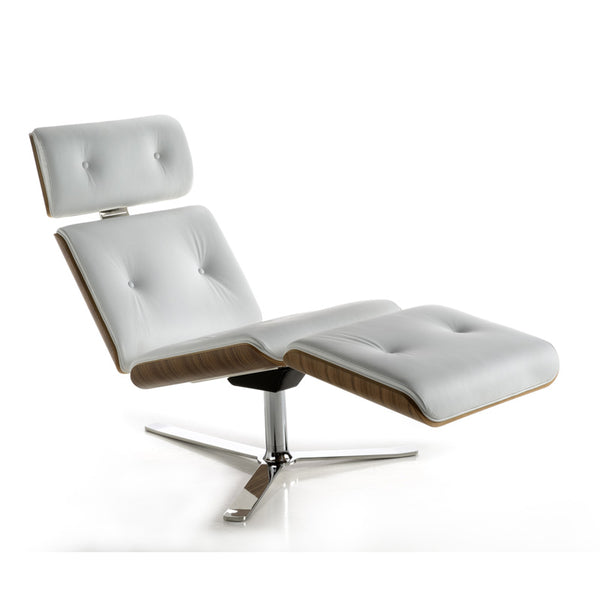 altek armadillo chaise lounge chair - eames chair style | ikonitaly
