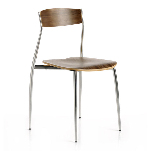 altek baba minimalist chair | canaletto wood | ikonitaly
