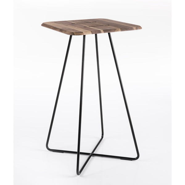 altek levante bar table - versatile wooden top | ikonitaly