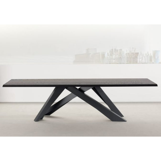bonaldo big table 220 wood dining room table | ikonitaly