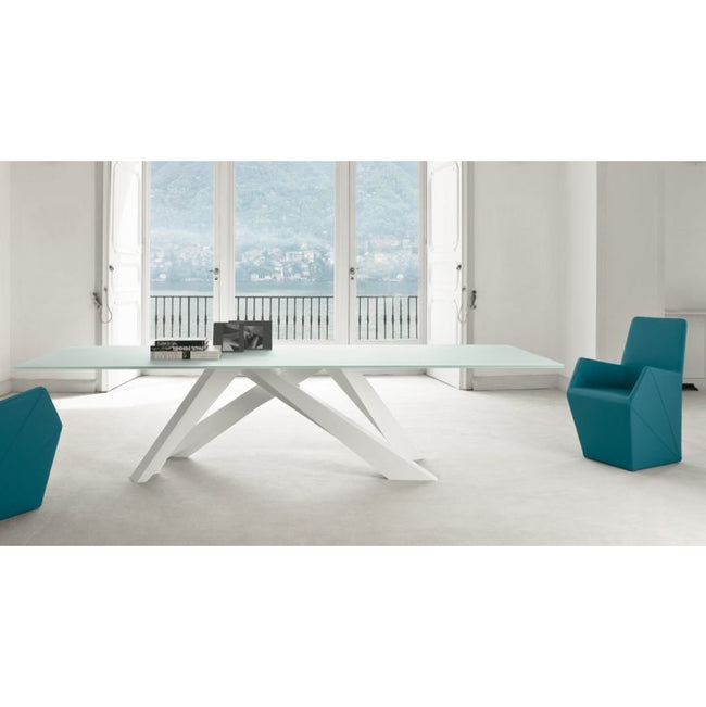 bonaldo big table 02 iconic - matt white | shop online ikonitaly