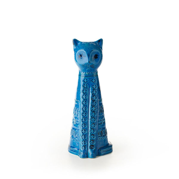 bitossi tall sitting cat figure ZZ999-123