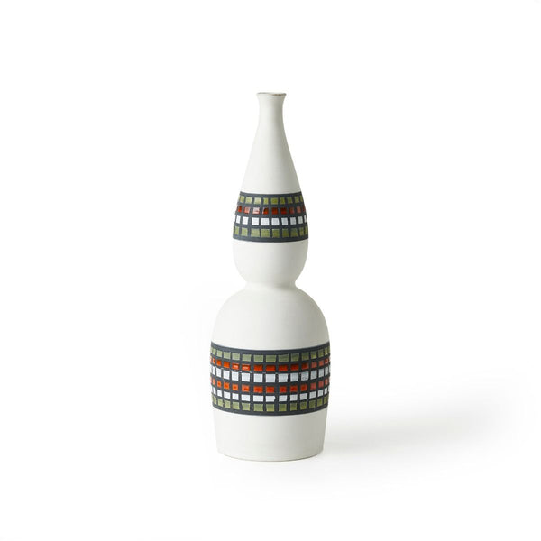 bitossi INV-1414 bottle-shaped ceramic vase | ikonitaly
