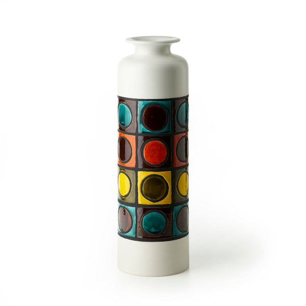 bitossi INV-2479 wax decorated ceramic vase | ikonitaly