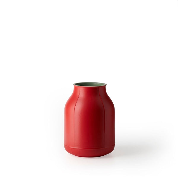 bitossi HUB-1 red vase - signed by Arik Levy | ikonitaly
