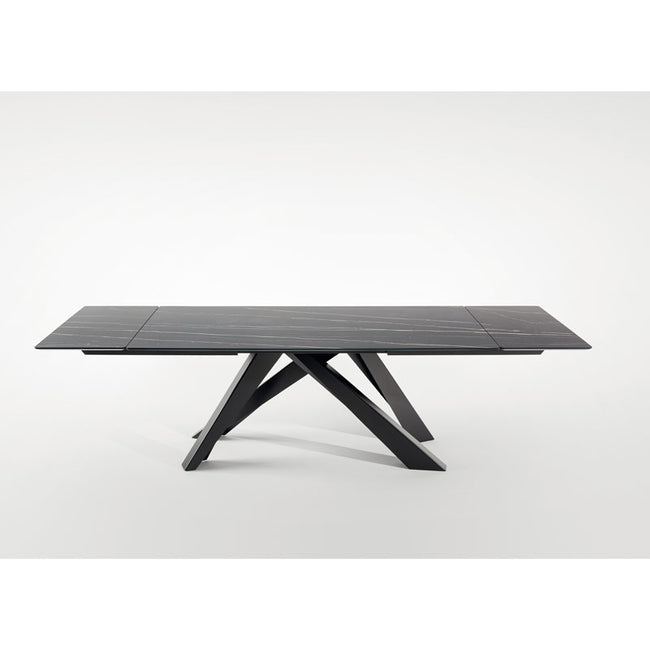 bonaldo big table leaf glass dining table (200/300)