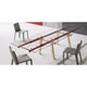 bonaldo tracks 02 extendable dining table