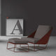 bonaldo alfie indoor chaise lounge chair
