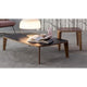 bonaldo monforte elegant wood low table