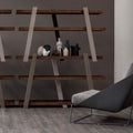 bonaldo note bookcase - shelves and beams in various colour combinations | shop online ikonitaly