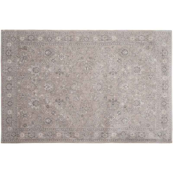 carpet edition the bobohemian – design flowers contemporary rug 8908 glastonbury grey | ikonitaly