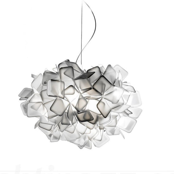 slamp clizia suspension lamp - smokey grey | shop online ikonitaly