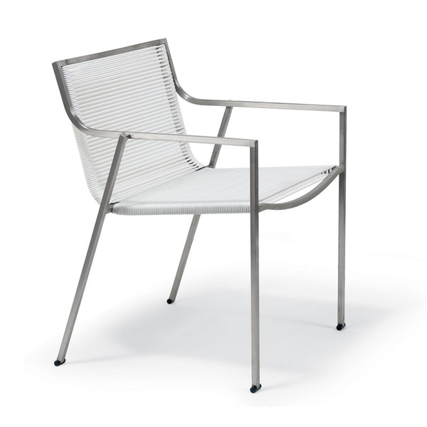 coro SB stackable patio chair with arms