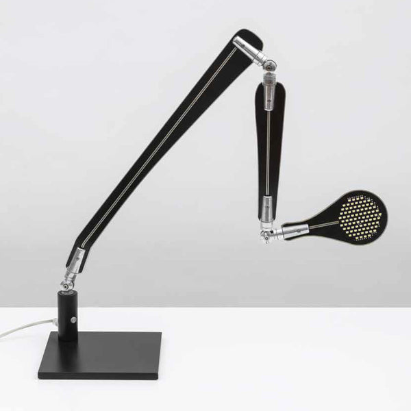 danese milano de bevilacqua ina black table lamp | ikonitaly