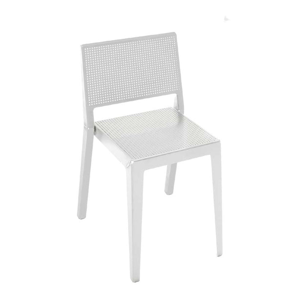 danese milano rizzato abchair | white stackable chair | ikonitaly