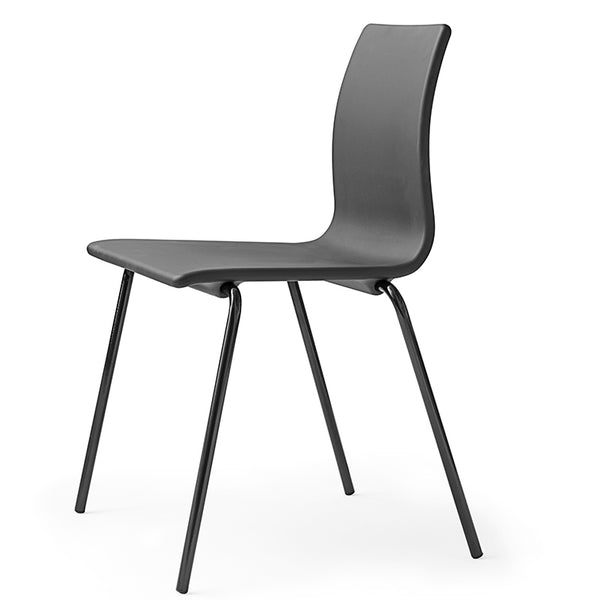 erik jorgensen aqua chair - grey without arms | shop online ikonitaly