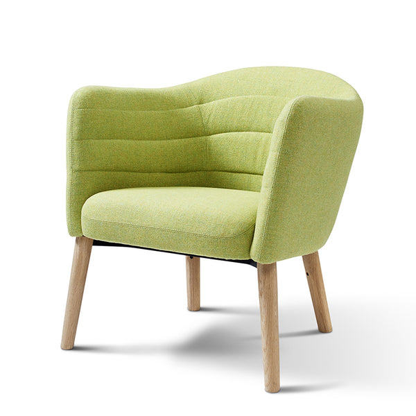 erik jorgensen lemon iconic lounge chair - green | ikonitaly