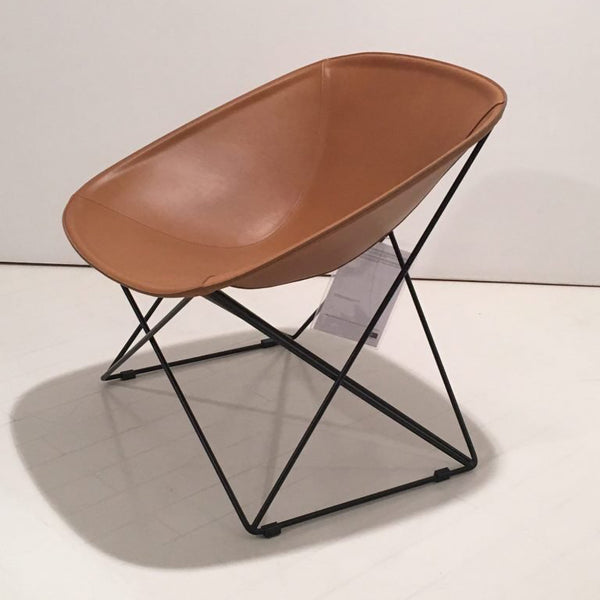 lema popsi lounge chair in leather | shop online ikonitaly