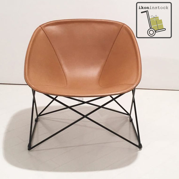 ikoninstock | lema popsi armchair  - aged leather| shop online ikonitaly