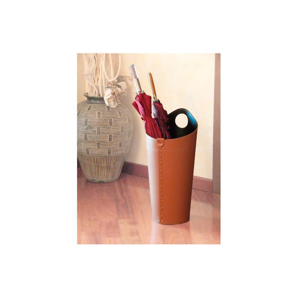 limac design pluvia | leather umbrella stand | ikonitaly