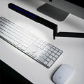 luceplan bap led iconic table lamp - black lamp over keyboard | shop online ikonitaly