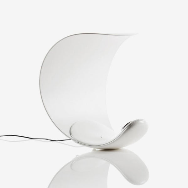 luceplan curl table lamp - iconic dimmable lamp | shop online ikonitaly