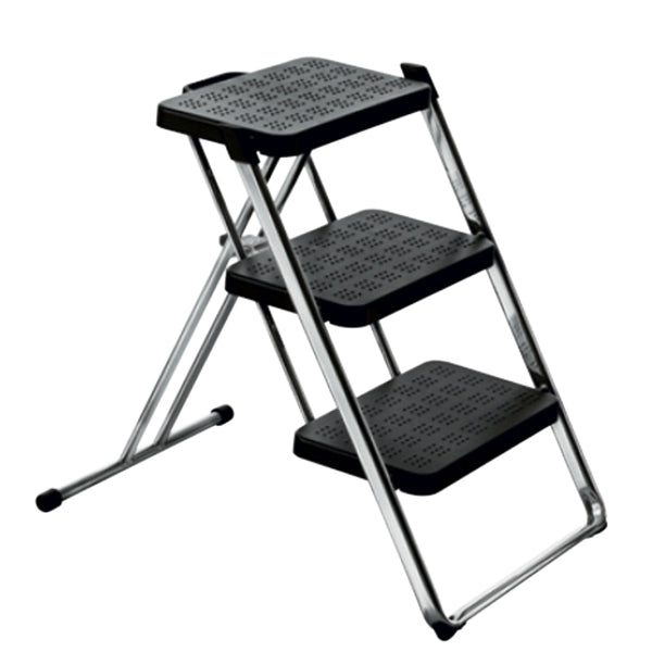 magis nuovastep folding step ladder black | ikonitaly