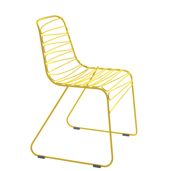 magis flux steel rod stacking chair