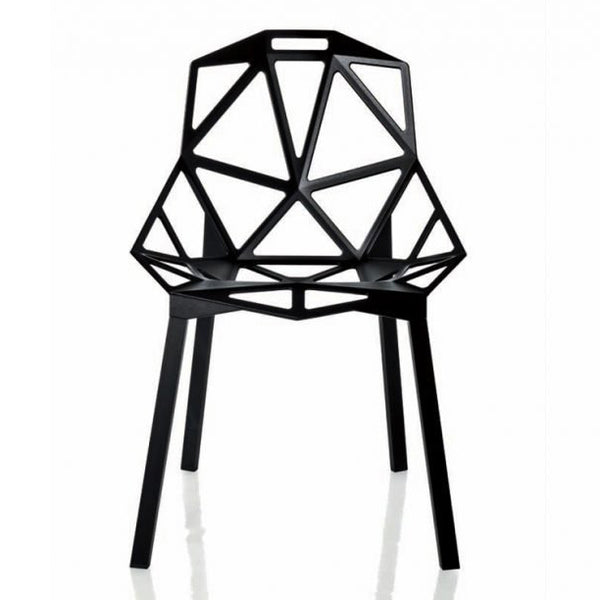 magis chair one black - designer kostantin grcic | shop online ikonitaly