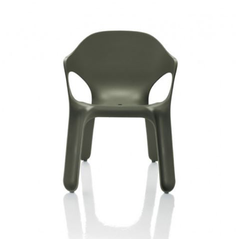 magis easy chair charcoal - designer jerszy seymour | shop online ikonitaly