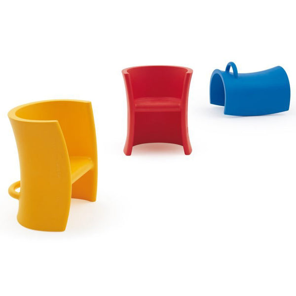 magis trioli chair (yellow, red, blue) - designer eero aarnio | shop online ikonitaly
