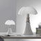 martinelli minipipistrello and pipistrello iconic table lamps - both white | ikonitaly