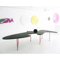 minimaproject shark table with wall structures | designer luke orsetti | shop online ikonitaly