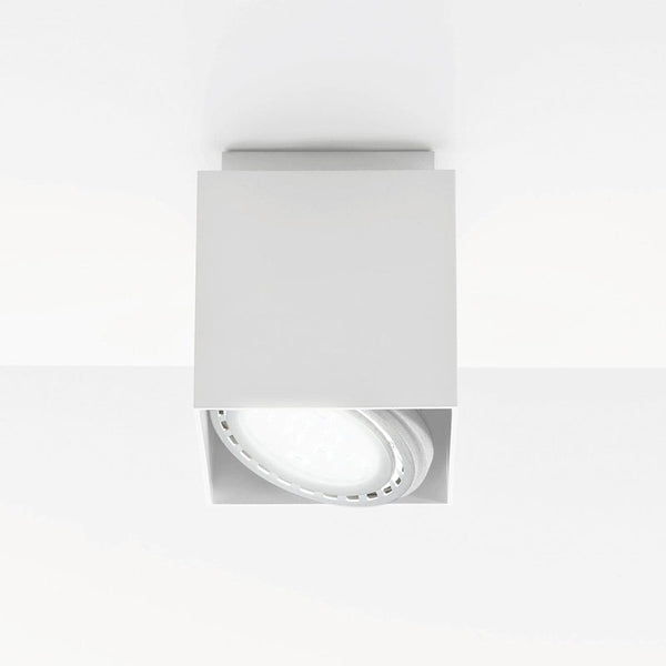 nemo cubo ceiling lamp white - designer marco pollice | shop online ikonitaly