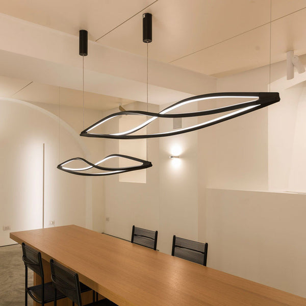 nemo in the wind pendant horizontal suspension lamp - designer arihiro miyake | shop online ikonitaly