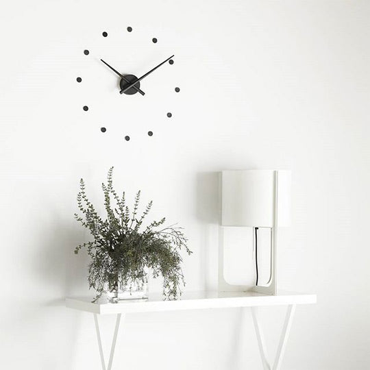 nomon oj mini wall clock in polystyrene | ikonitaly