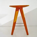 poliform ics orange coffee table, solid wood | ikonitaly