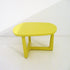 poliform tridente yellow coffee table | ikonitaly