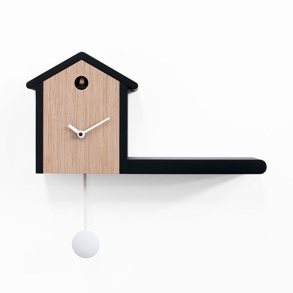 progetti my house structure light wood with black borders (front view) | ikonitaly