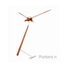 nomon puntero n minimalist table clock | shop online ikonitaly