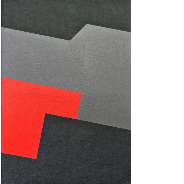 franco durante geometric painting 1 | art on canvas | ikonitaly