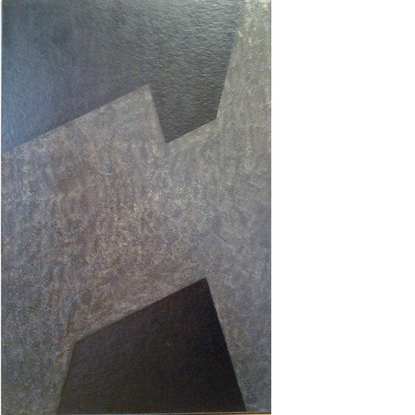 franco durante geometric painting innesto.1 | art on canvas | ikonitaly