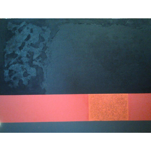 franco durante contemporary painting red and black | art on canvas | ikonitaly