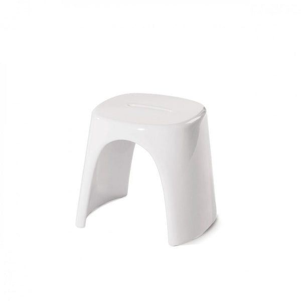slide amélie stool for outdoors - white | shop online ikonitaly
