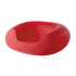 slide chubby lounge chair for outdoors - red | shop online ikonitaly